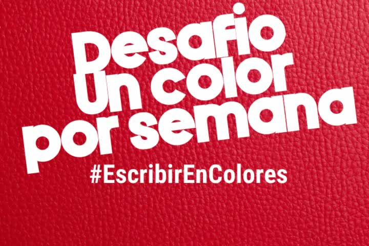 #EscribirEnColores: Rojo