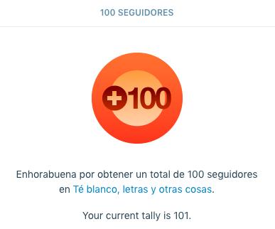 100 abrazos!